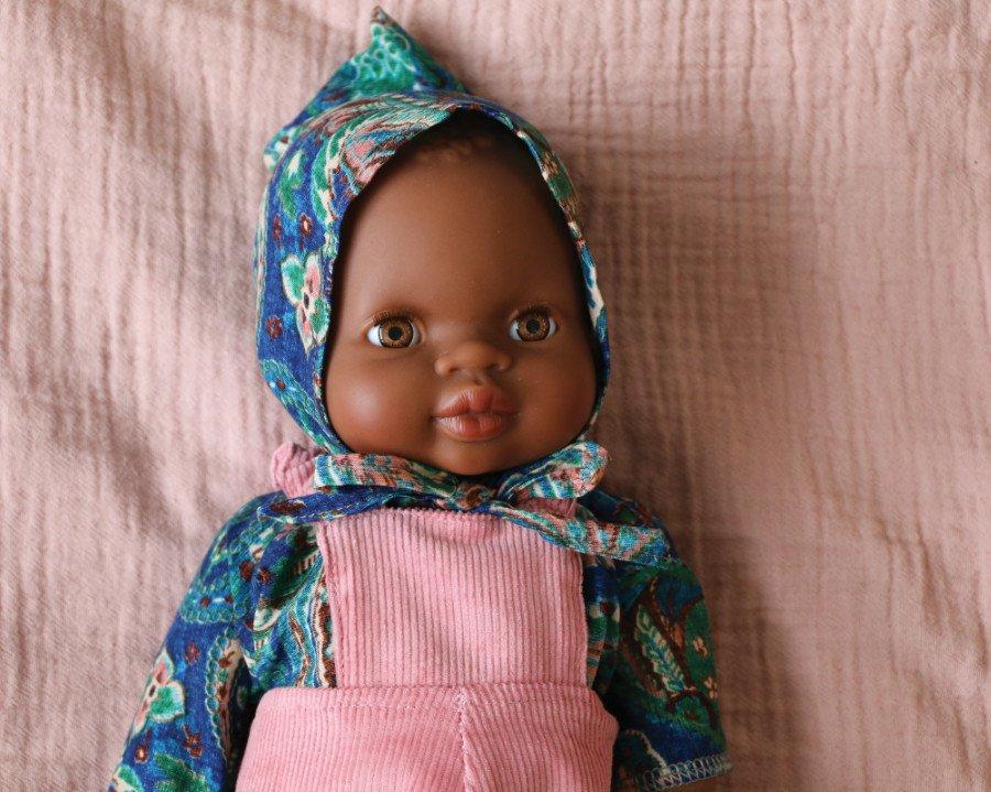 Puppen kaufen für den guten Zweck! Suzon by Suzie Winkle aus der Kollaboration Minikane X Smallable zum Universal Children's Day