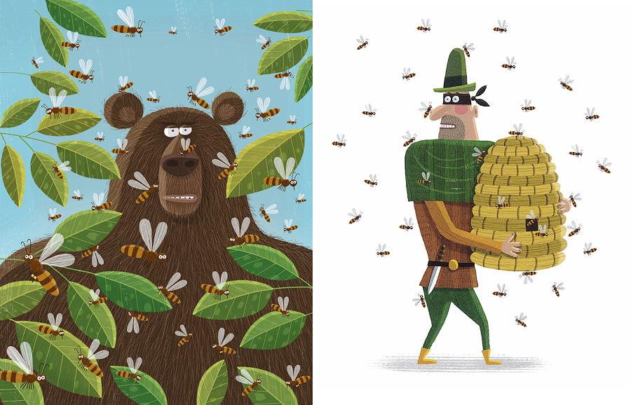 Der humorvolle Zeichenstil von Piotr Socha fasziniert Kinder und Erwachsene gleichermaßen © Gerstenberg Verlag
