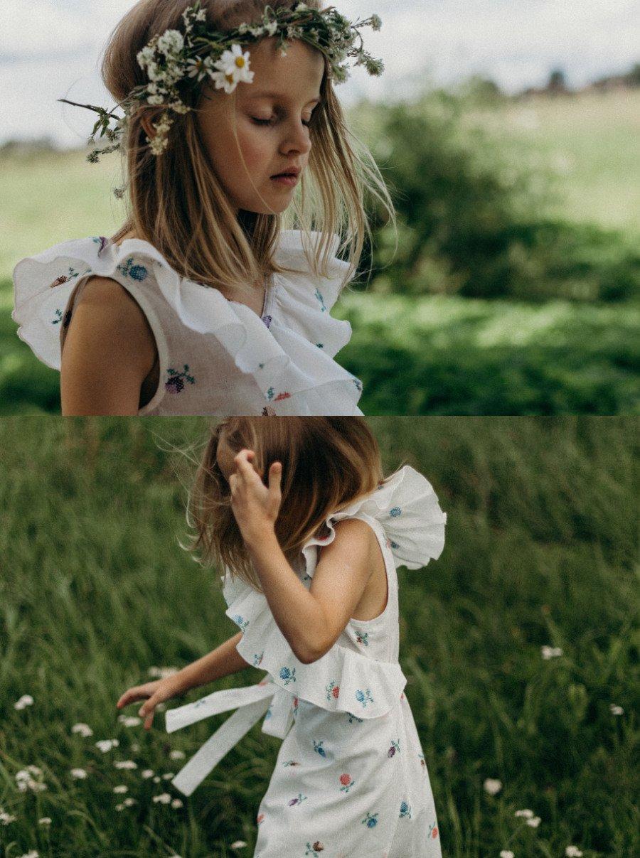 Kein Greenwashing in Bullerbü, sondern ehrliche, nachhaltige Kleidung aus besticktem Leinen