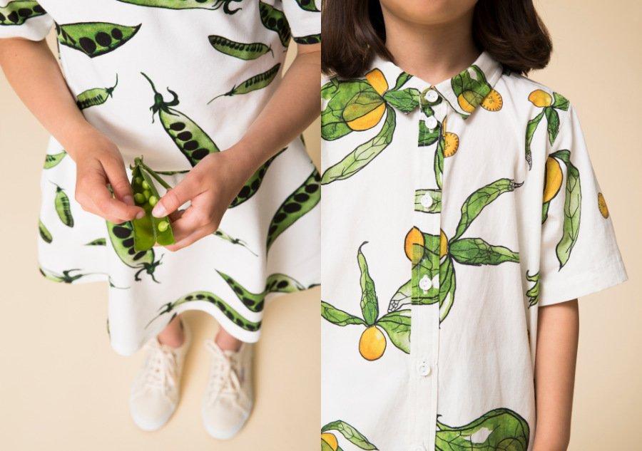 Erbsenzählerei sah noch nie so lässig aus: WAWA inszeniert Natur und Mode mit ganz viel Chlorophyll und fruchtiger Exotik