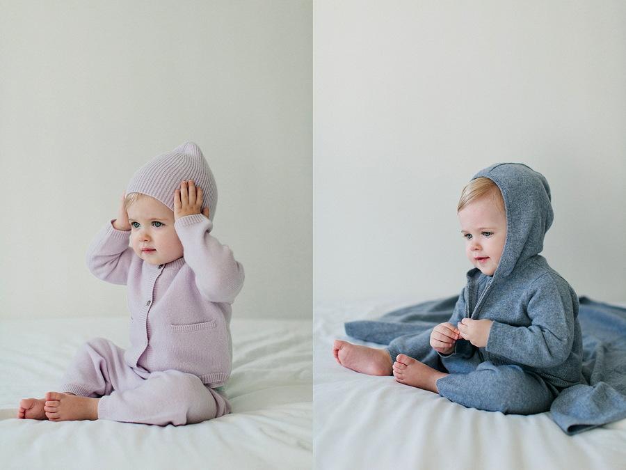Casual Chic für die Jüngsten von Parenti's Finest Cashmere aus der FS 16 Kollektion © Molly Zaidman Photography