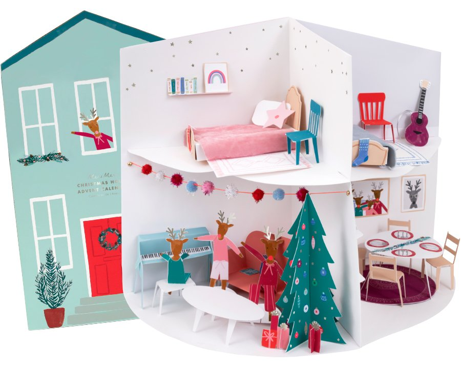 Das Fest der Liebe im Hause Rudolph! MERI MERIS Kalender sieht so schön weihnachtlich aus, dass wir glatt einziehen möchten