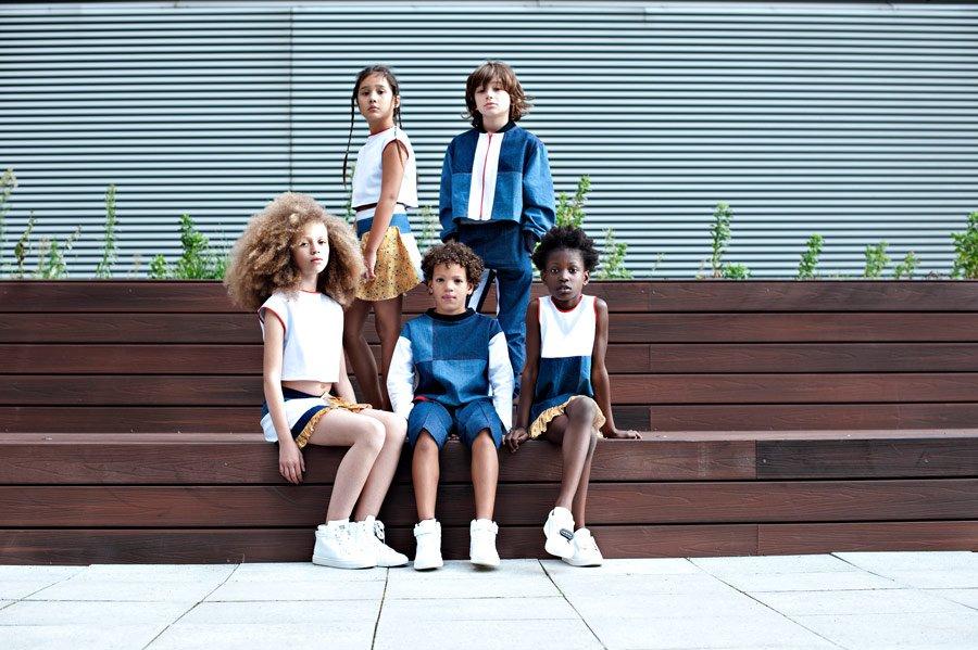 Cool und experimentierfreudig: Der Modetrend Denim aus der Sicht einer Londoner Kindermode-Designerin