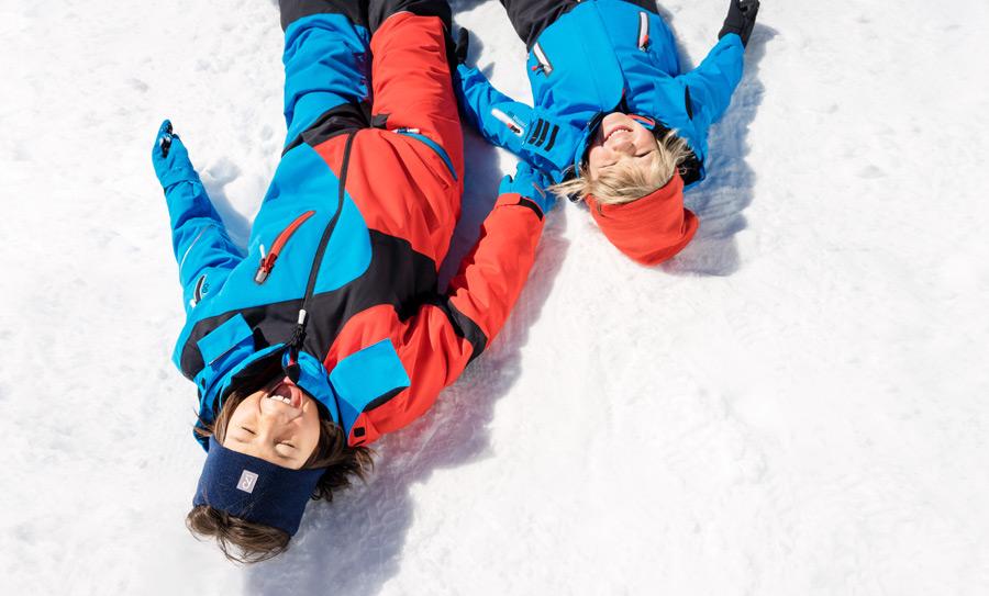 Wer einen ganzen Wintertag lang im Schnee getobt hat, muss auch mal eine Verschnaufpause einlegen dürfen
