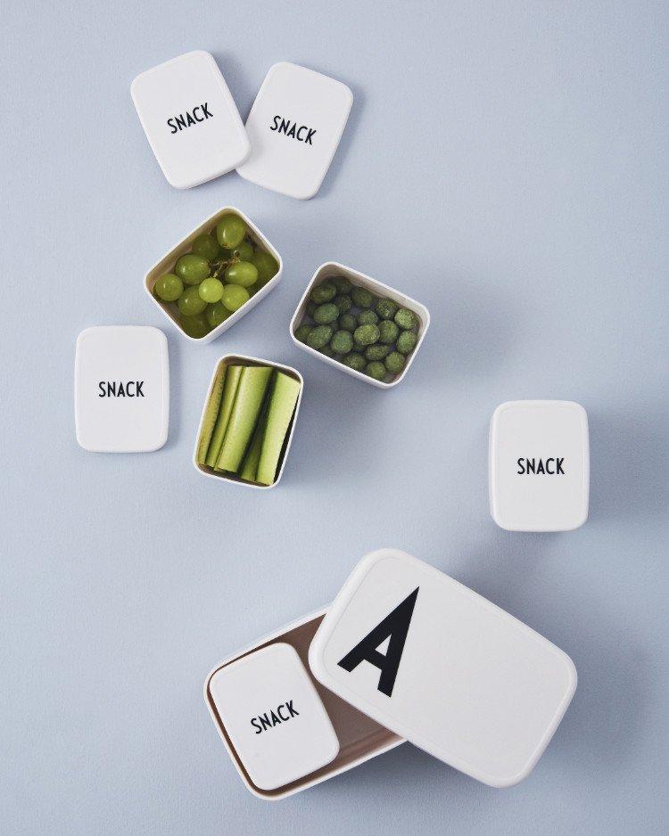 Von A wie Anton bis Z wie Zoe, persönliche Brotboxen mit Initialen von Design Letters