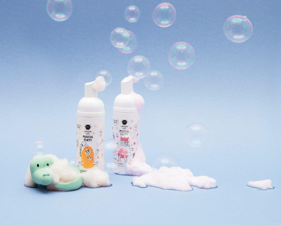"""So wird das Baderitual zur Schaum-Party! Der """"Hair & Body Foam"""" ist die spaßige Alternative zu Duschgel und Kinder-Shampoo"""