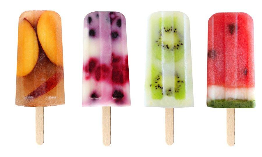 Die bunten Happy Day Popsicles sind ein Blickfang auf jeder Pool Party! © Rauch