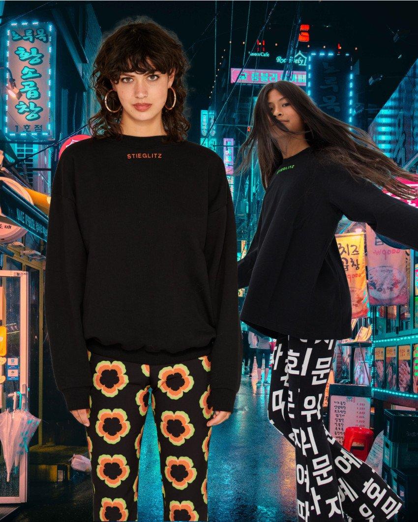 Black Is The Color ... Der Boyfriend Sweater und das STIEG Shirt für Girls sind absolute STIEGLITZ Essentials