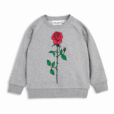 Sweatshirt von Mini Rodini über smallable
