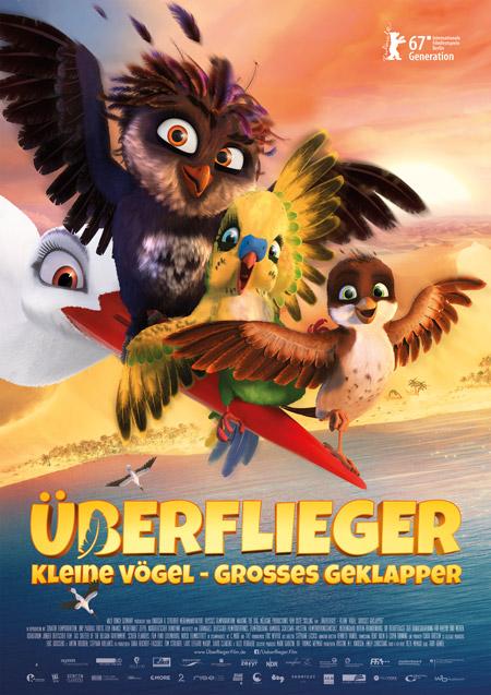 """Die """"Überflieger"""" wollen hoch hinaus © 2017 Wild Bunch Germany"""