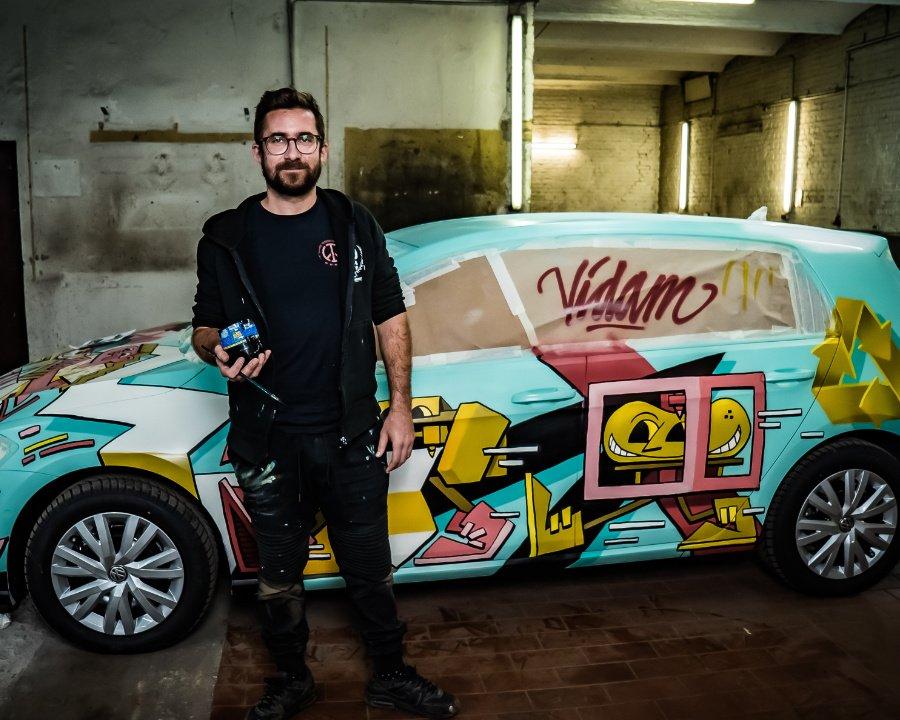 Die CRAFT kommt aus der Dose! Streetart in Berlin wird neuerdings mit Grünstrom vorangetrieben