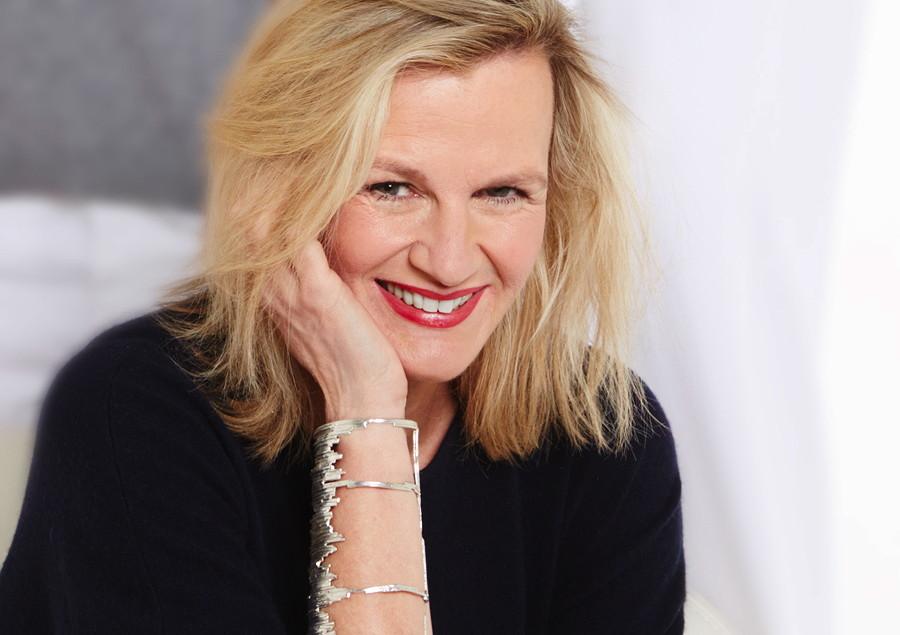 Parenti's Finest Cashmere: Liebt die Kunst und die Mode – Designerin Sabine Parenti © Beate Hansen