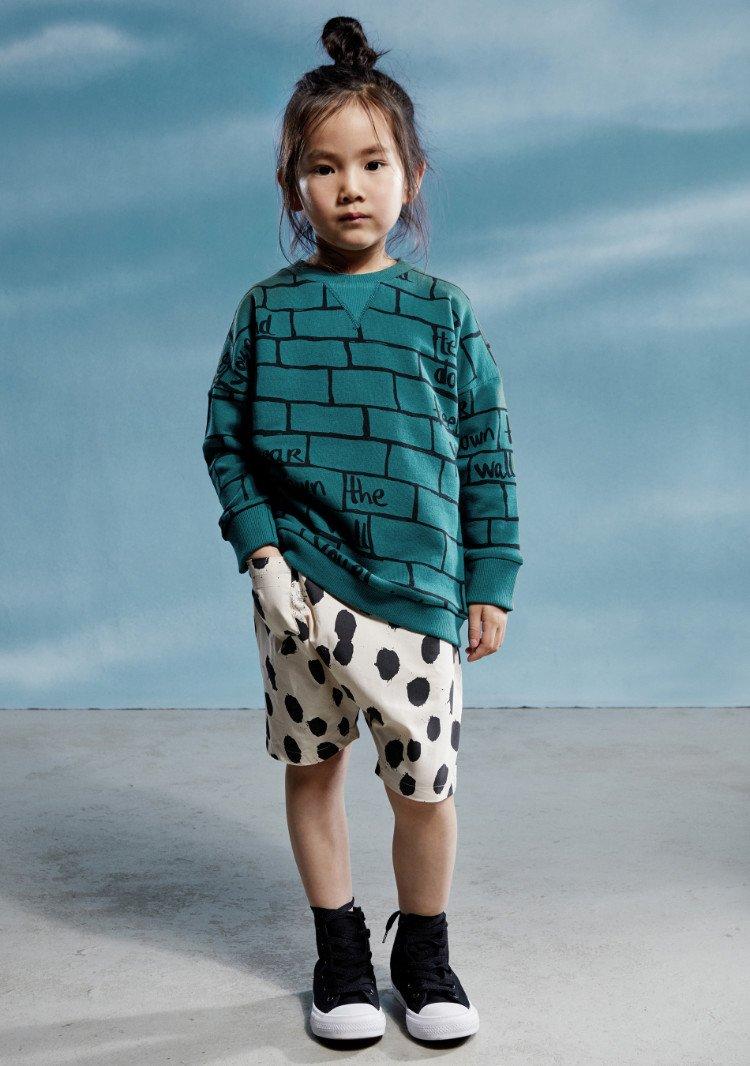 Für Großstadtgören und solche, die es werden wollen: Unkonventionelle Mode aus Berlin im Mauer-Look