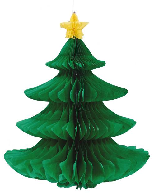 Papierdeko Weihnachtsbaum von Butlers