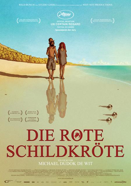 """Oscar-nominierter Animationsfilm: """"Die rote Schildkröte"""" © Universum Film"""