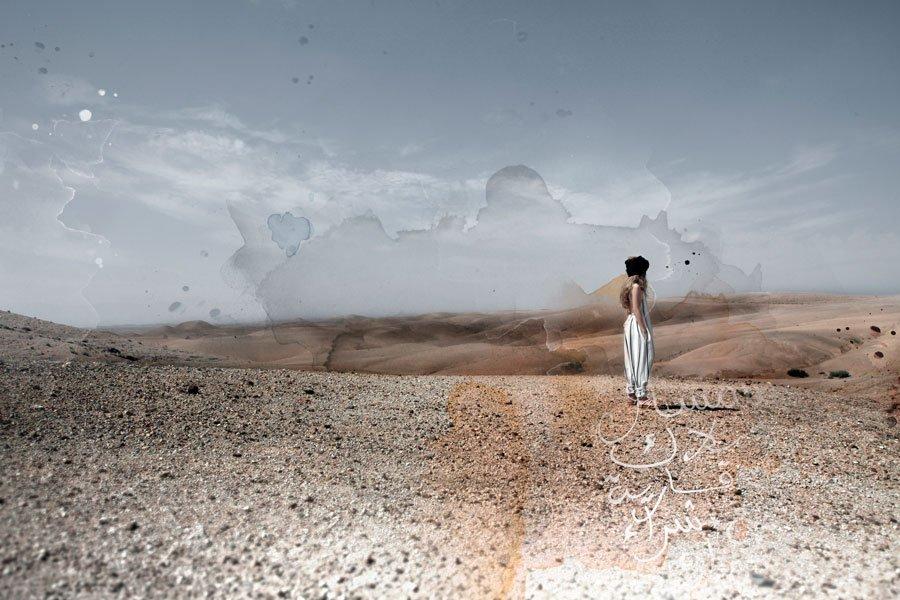"""Der locker geschnittene """"TUAREG Jumpsuit"""" ist genau das Richtige für einen Trip durch die Wüste"""