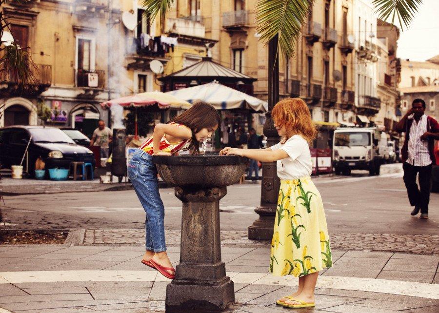Cannoli, Colomba und Cantuccini sind unwiderstehlich ... Aber nach der süßen Schlemmerei geht nichts über einen Sorso d'Aqua