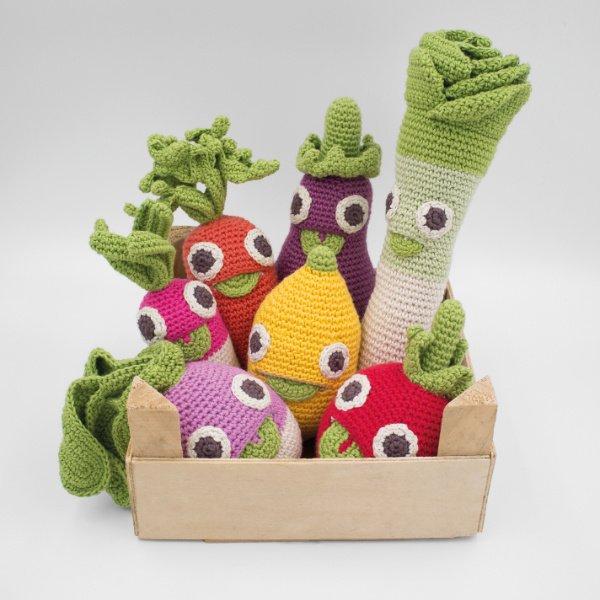 Ökologisches Spielzeug, so frisch, wie direkt vom Wochenmarkt!