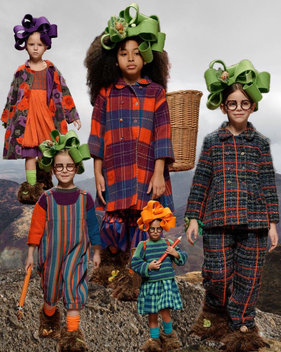 Auf dem Pfad der guten Laune ... Modetrends 2020/21 von PÉRO für alle, die im Winter Farbe bekennen wollen