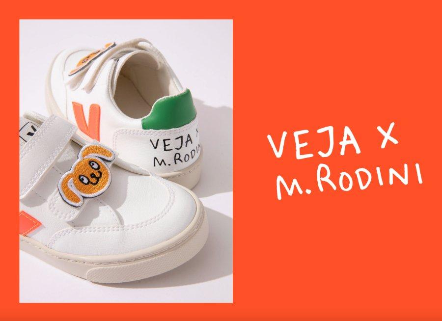 Häschen-Humor trifft Sneaker-Know-how: Der komplett nachhaltige und faire Kindersneaker von VEJA x MINI RODINI
