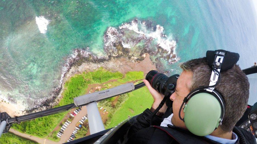 Höhenangst kennt der Künstler Gray Malin nicht mehr, nur die Leidenschaft für spektakuläre Strandbilder aus dem Helikopter