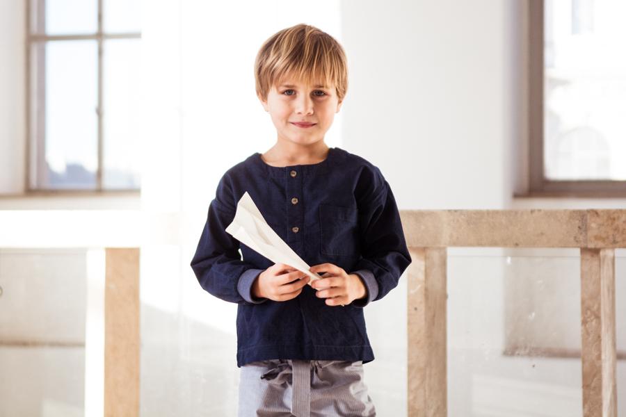 Hemd Balthasar ist ein echtes Allround-Talent und eignet sich sowohl für die Schule, zum Spielen als auch für festliche Anlässe