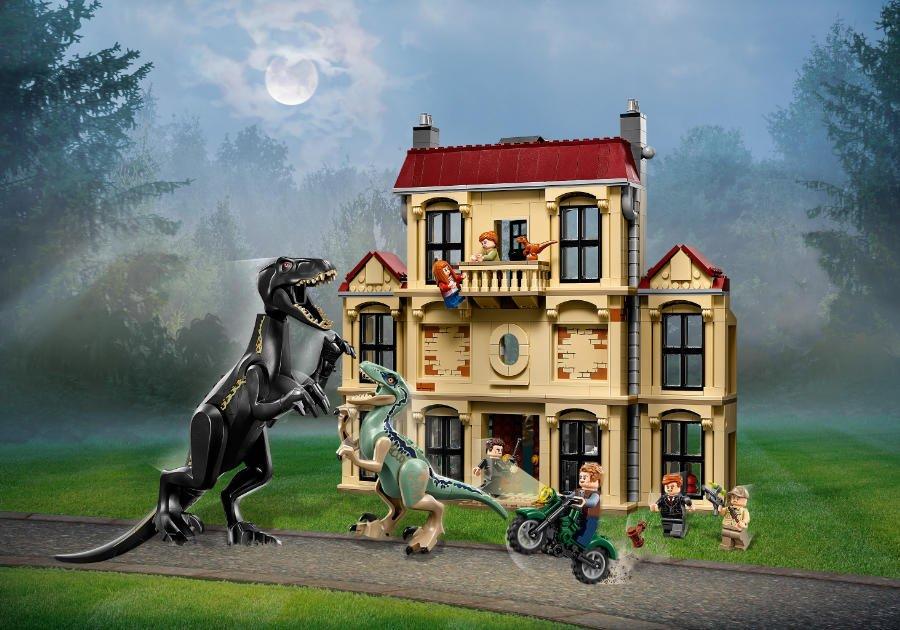 Mit dem Dinosaurier Spielzeug für Cineasten und Dino-Fans von LEGO X Jurassic World donnert und bebt es gewaltig in der Spielecke!