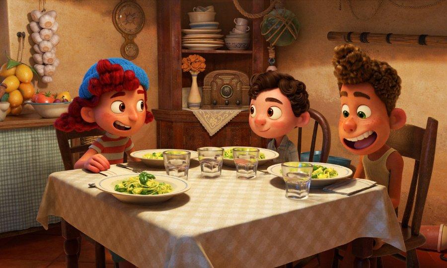 """Wahre Freundschaft geht durch den Magen: Giulia Marcovaldo tischt ihren Kumpels """"Trenette al Pesto"""" auf © Disney/Pixar"""