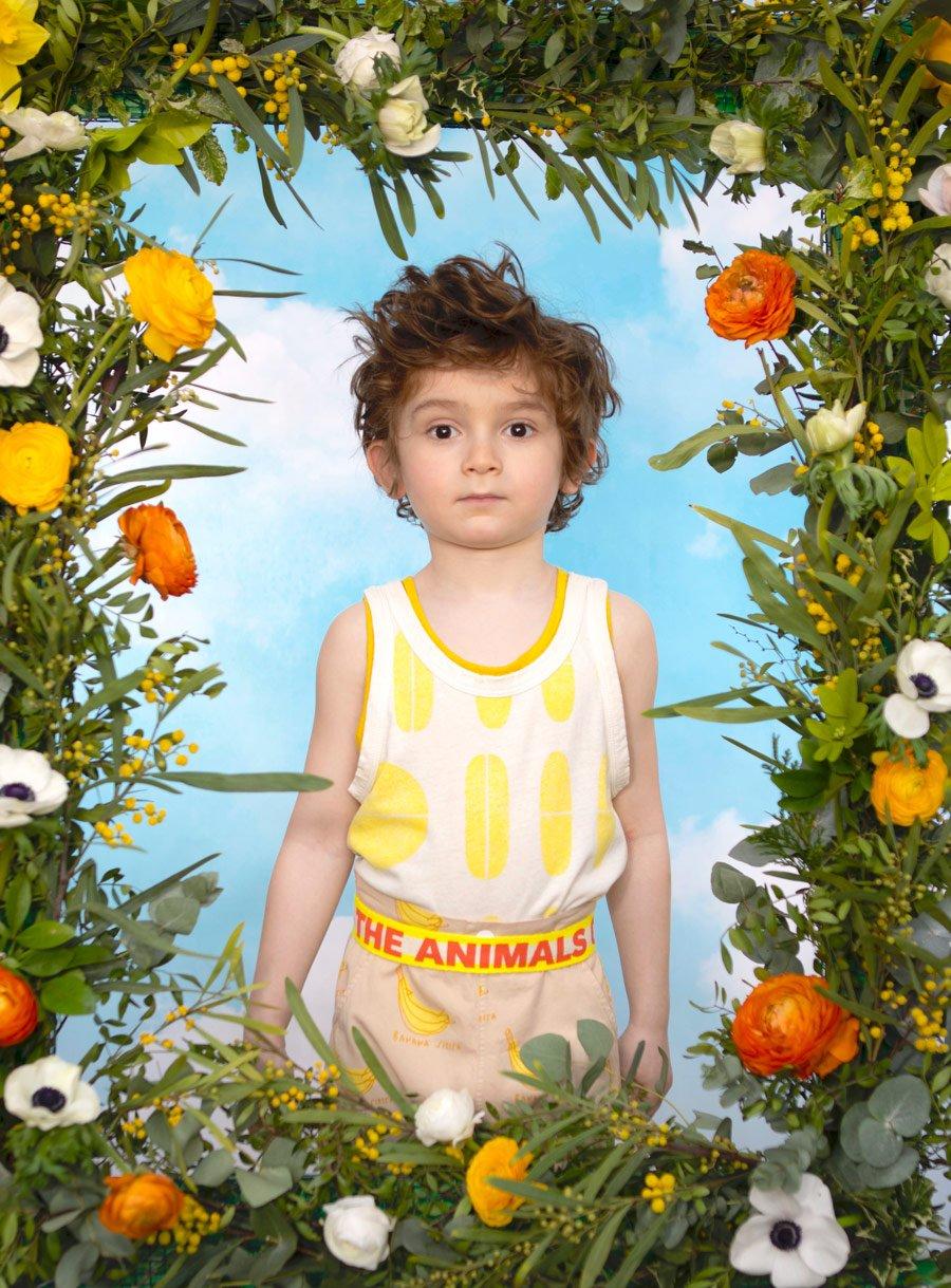 Völlig Banane? Jasons Siesta Outfit: Top & Gürtel THE ANIMALS OBSERVATORY, Top (monochrom) THE NEW SOCIETY, Hose BONMOT