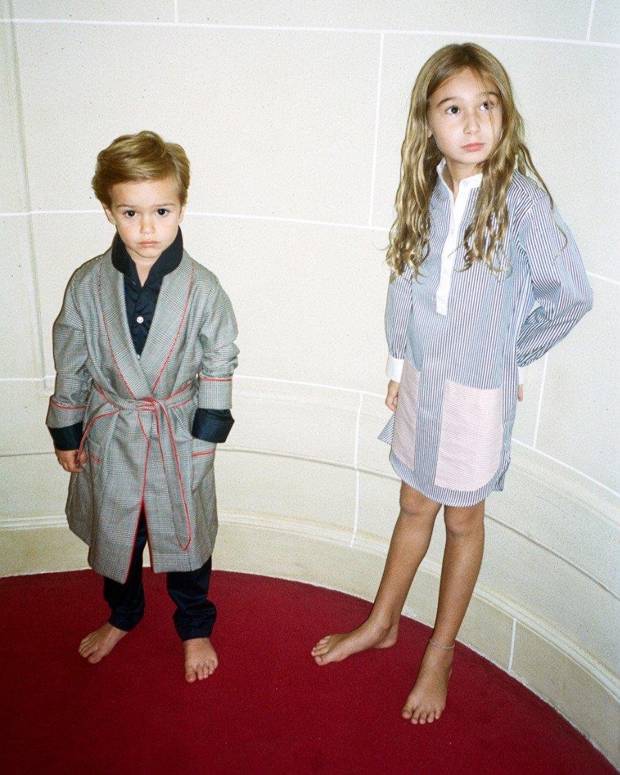 Ein Schlafrock, der rockt! Loungewear-Klassiker werden bei CANDICE FAUCHON erfrischend neu interpretiert