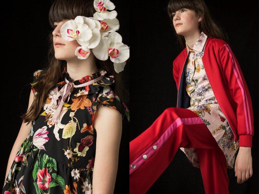 Blumenflüsterin der Mode: Christina Rohde versteht es Blumen zu inszenieren und schreckt auch vor Stilbrüchen nicht zurück