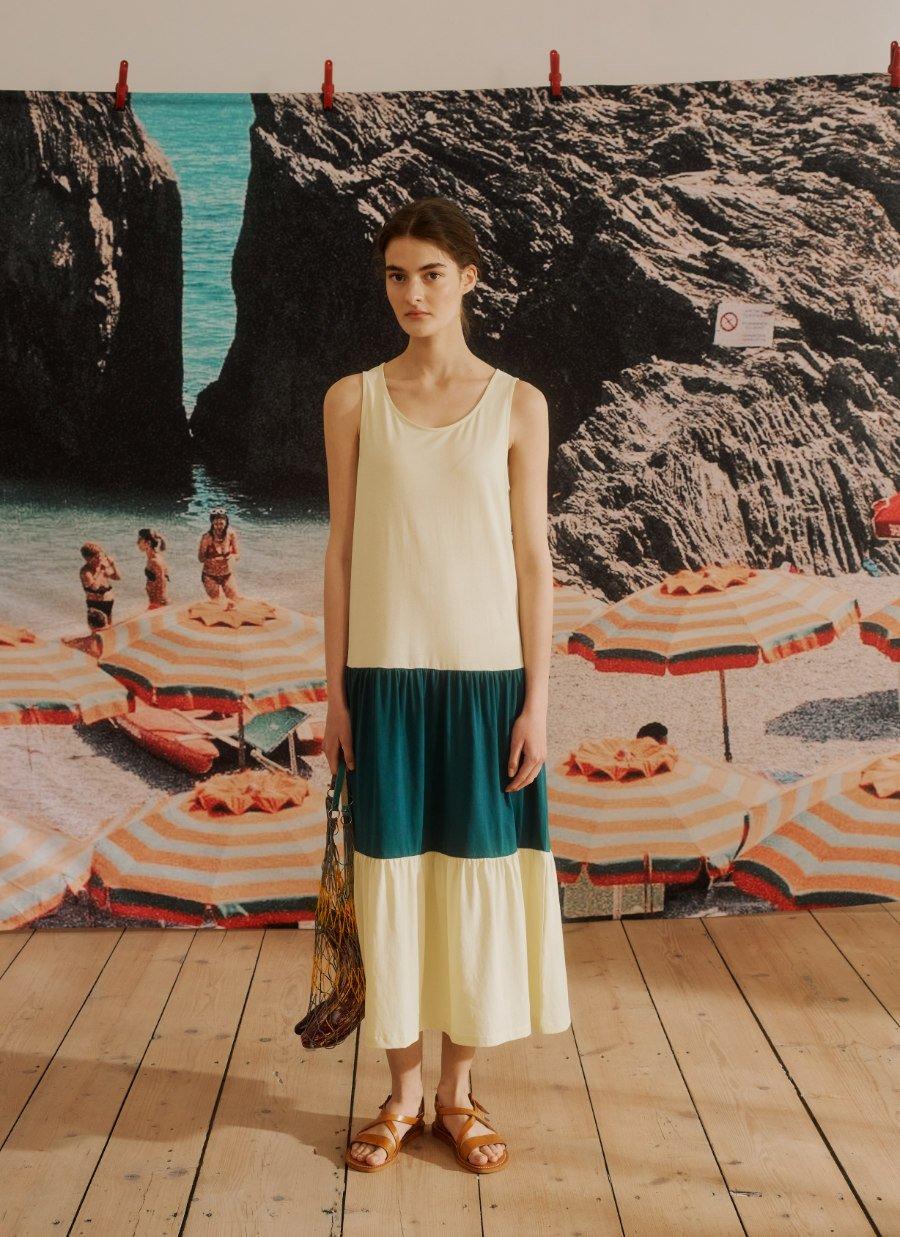 """Perfect Holiday Match: Das Strandkleid """"Tilda"""" aus Bio-Baumwolle gibt es auch in Miniature"""