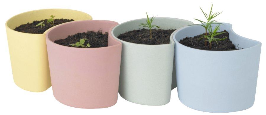 """In vier Cupcakefarben erhältlich, eignet sich """"Your Tree"""" auch als Tischdeko für die englische Tea Party"""