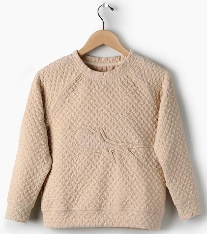 Sweater mit Schwalbenmotiv von Andorine