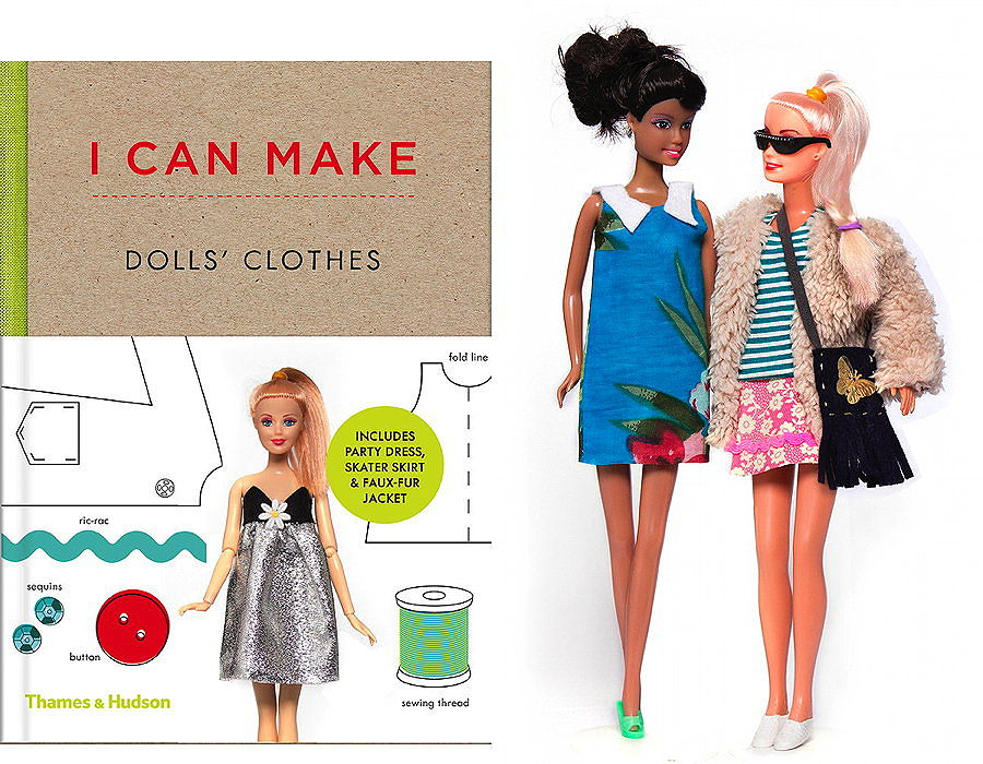 "Barbie wird zum Trendsetter – mit Anleitungen aus ""I Can Make Dolls' Clothes"" – Photos by © Pascal Bergamin"