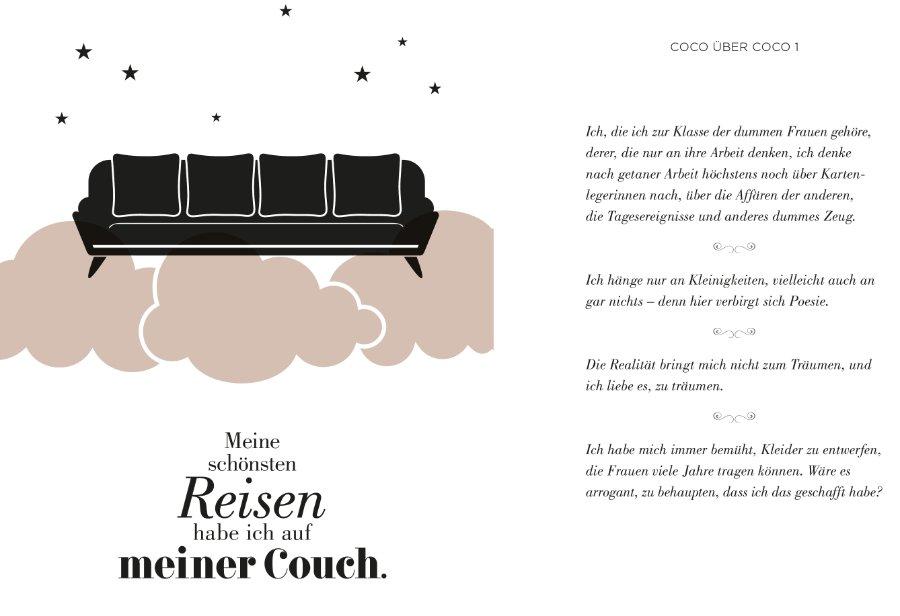 Dieses Coco Chanel Zitat übers Reisen passt einfach perfekt zur aktuellen Lockdown-Situation © Prestel Verlag