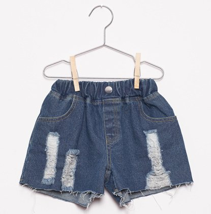 Denim Shorts von Fish & Kids