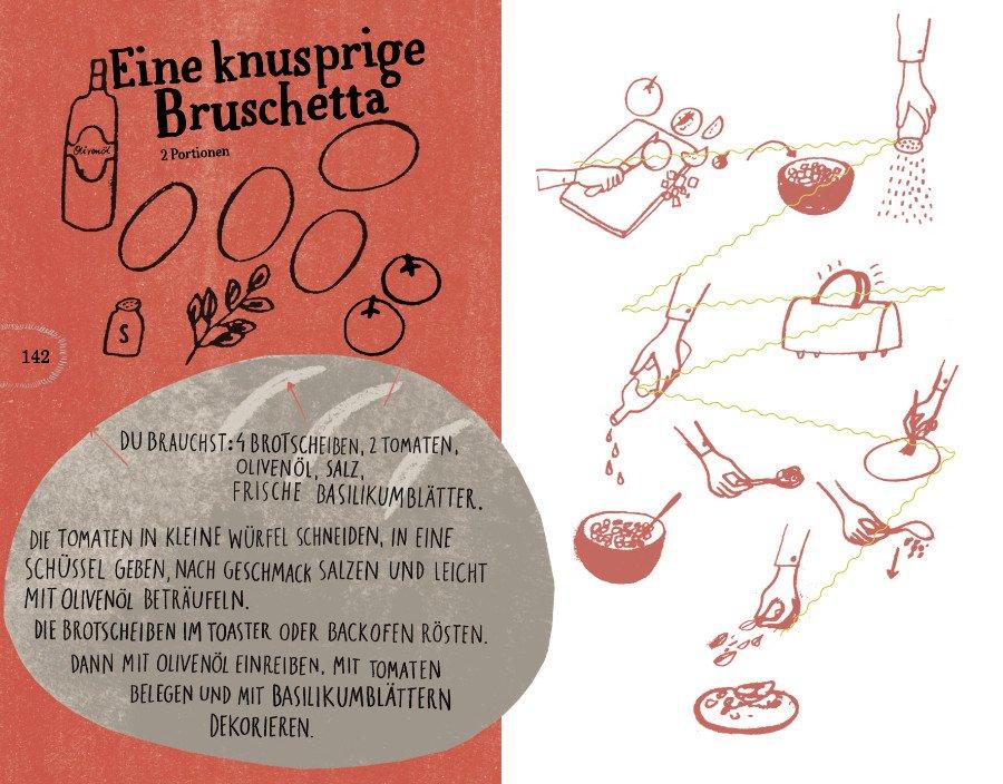 In der Kürze liegt die Würze: Bruschetta, eine italienische Vorspeise, ist blitzschnell zubereitet und so unbeschreiblich lecker!