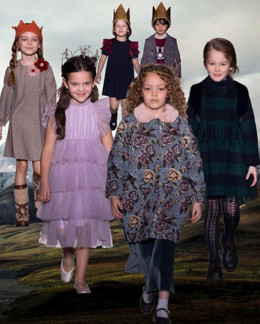 Geht es nach Il GUFO, dann ist ein royaler Preppy-Style von den Modetrends 2020/21 nicht wegzudenken
