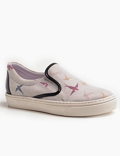 Slip On Sneaker mit Schwalbenprint von Andorine