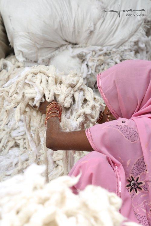 Lorena Canals' waschbare Teppiche werden aus Naturmaterialien gefertigt
