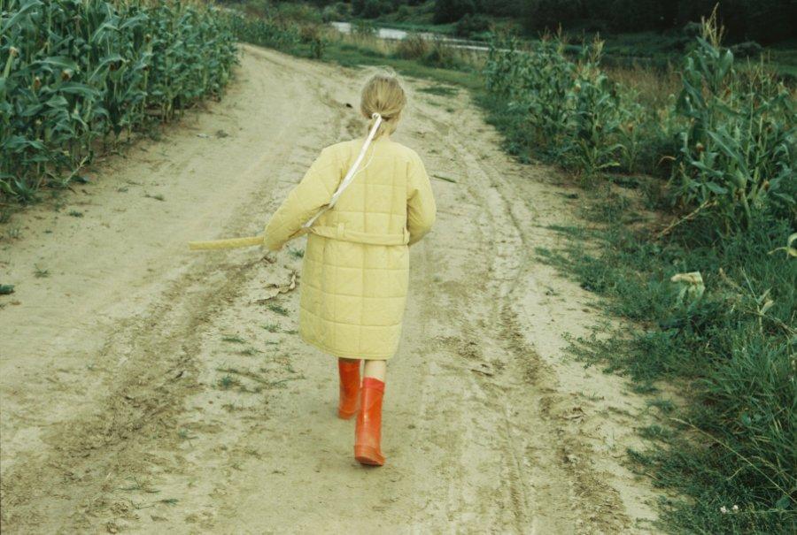 Väterchen Frost lässt grüßen: Ein warmer Steppmantel darf im russischen Winter nicht fehlen