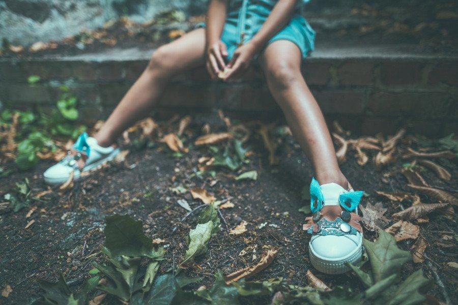 #stopmakingsense – die Funface Sneaker spiegeln exakt den Spirit der SVNTY Crew wider. © STUDIONUNU