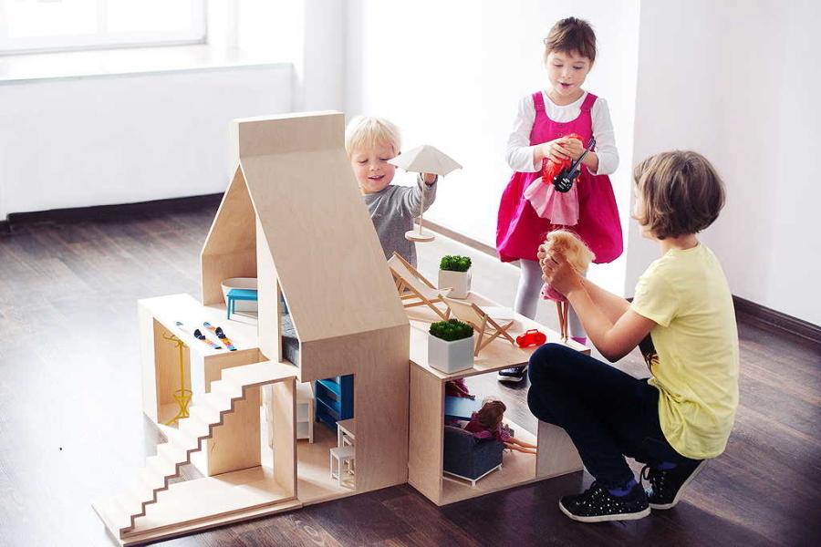 Das Dollhouse Wood lässt viel Raum für Fantasie