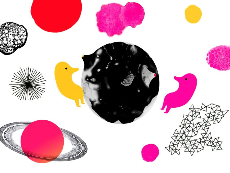Dada Company, Illustration von Violeta Lópiz zu Mozarts Zauberflöte, eine für Kids besonders faszinierende Oper