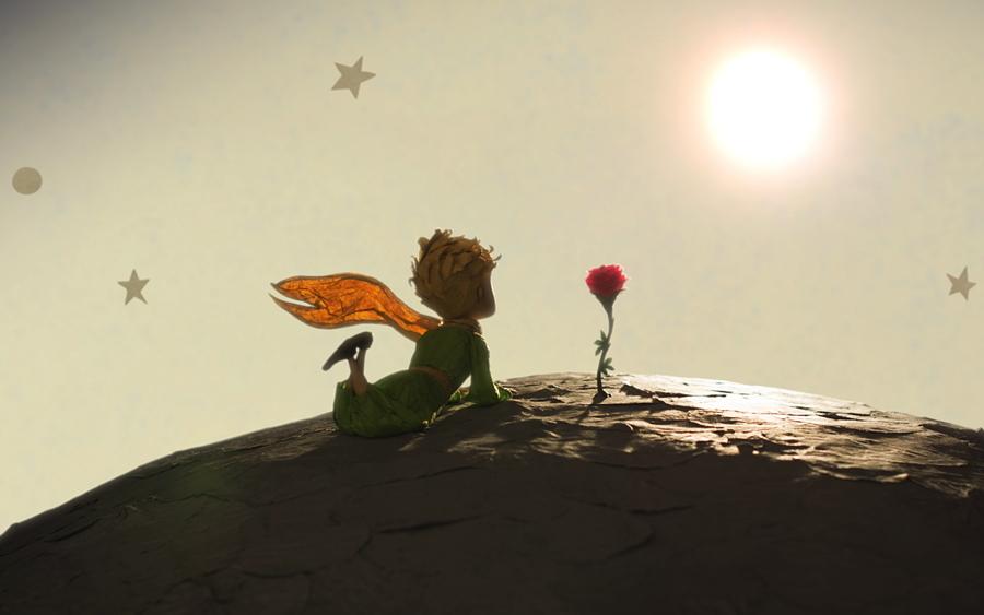 La première rose du Petit Prince, son premier amour ... © 2015 Paramount Pictures France