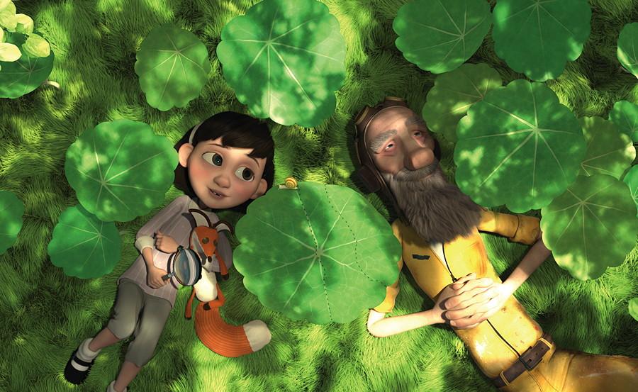 Ensemble on redevient enfant ! © 2015 Paramount Pictures France