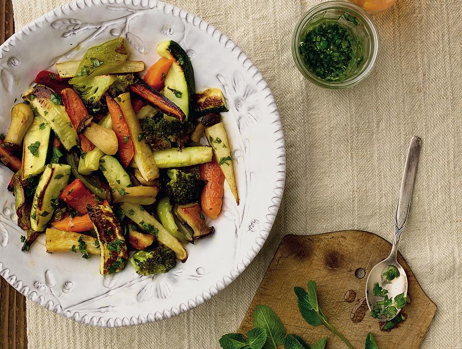 Selbst das Reste-Essen wir zum kulinarischen Ereignis! --- © Meike Bergmann, TRIAS Verlag