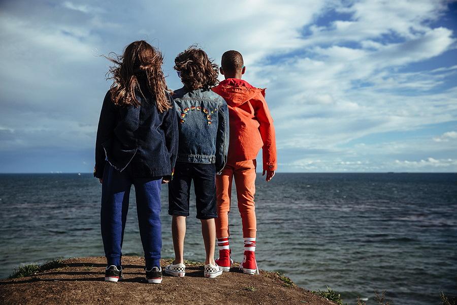 Drei Jungs und das Meer – Harper, Sunny und Donnie an ihrem Day Off, natürlich in ABC123me