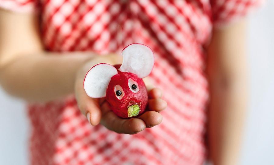 Und auch das Radies-Mäuschen ist ganz und gar selbst gemacht! – © Nicolas Schmidt, TRIAS Verlag